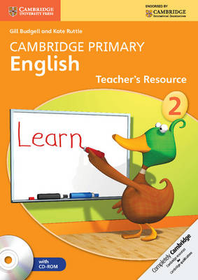 Cambridge Primary English Stage 2 Teacher's Resource Book with CD-ROM