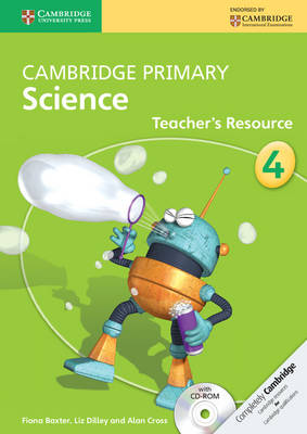 Cambridge Primary Science Stage 4 Teacher's Resource Book with CD-ROM