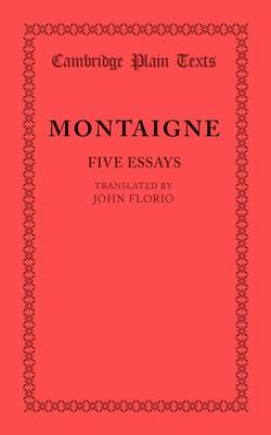 michel eyquem de montaigne essays