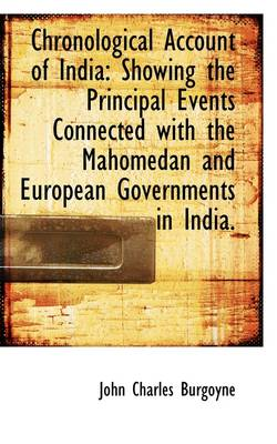 Chronological Account of India