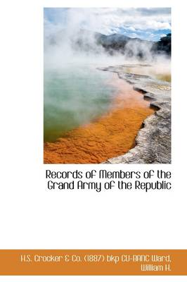 Records of Members of the Grand Army of the Republic