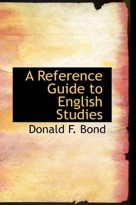 A Reference Guide to English Studies