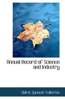 Annual Record of Science and Industry