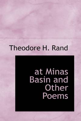 At Minas Basin and Other Poems