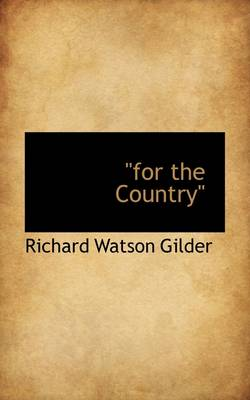 """For the Country"""""""