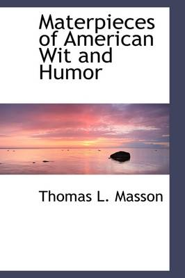 Materpieces of American Wit and Humor