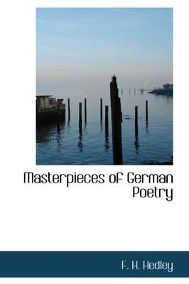 Masterpieces of German Poetry