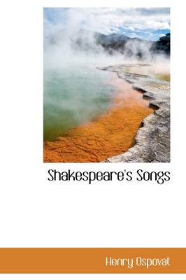 Shakespeare's Songs