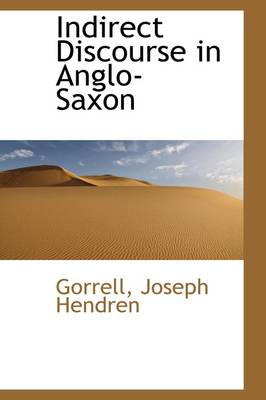 Indirect Discourse in Anglo-Saxon