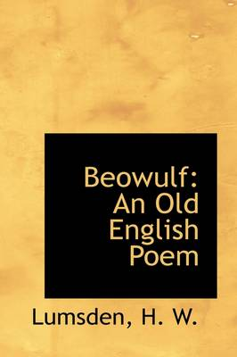 Beowulf: An Old English Poem