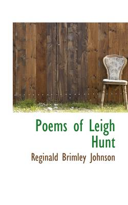 Poems of Leigh Hunt