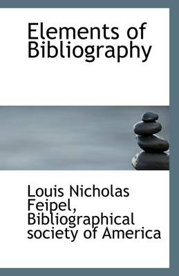 Elements of Bibliography