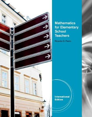 Mathematics for Elementary School Teache