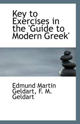 Key to Exercises in the 'Guide to Modern Greek'
