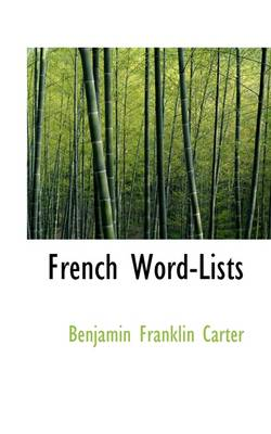 French Word-Lists