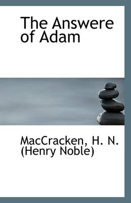 The Answere of Adam
