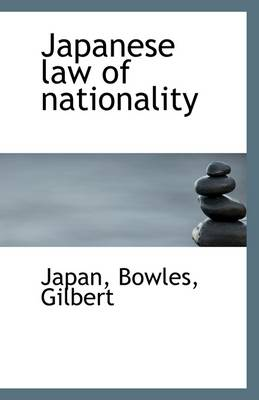 Japanese Law of Nationality