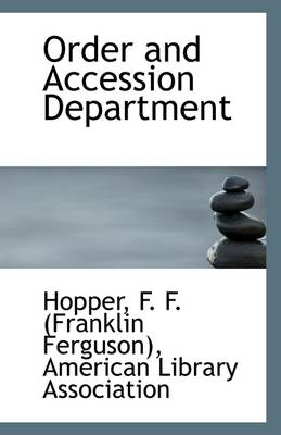 Order and Accession Department
