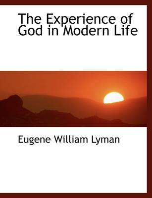 The Experience of God in Modern Life