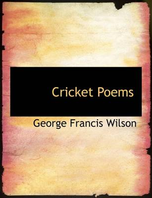 Cricket Poems