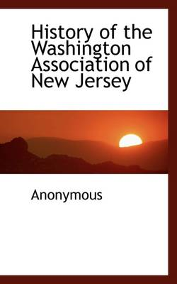 History of the Washington Association of New Jersey