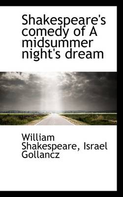 Shakespeare's Comedy of a Midsummer Night's Dream