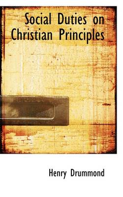 Social Duties on Christian Principles