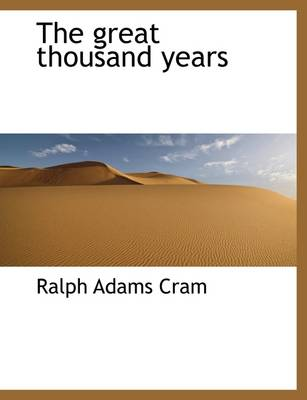 The Great Thousand Years