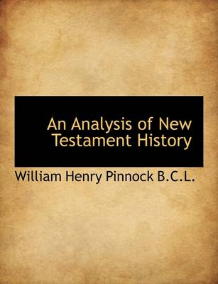An Analysis of New Testament History