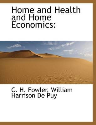 Home and Health and Home Economics