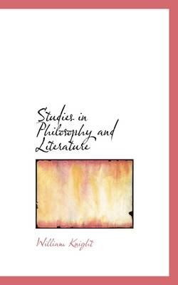 Studies in Philosophy and Literature
