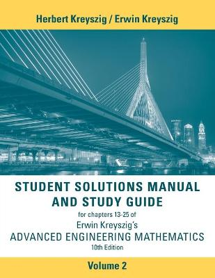Advanced Engineering Mathematics 10E Student Solutions Manual Volume 2