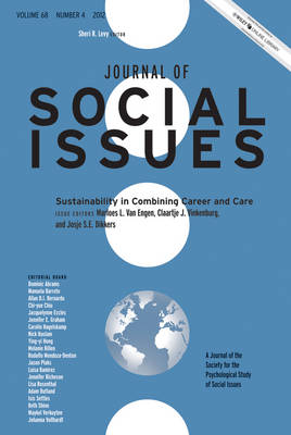 Sustainability in Combining Career and Care: 2012: Volume 68, Number 4