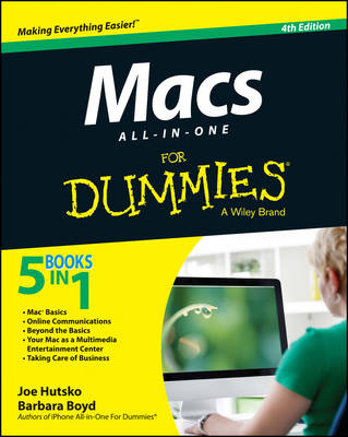 Macs All-in-One For Dummies