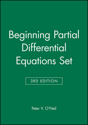 Beginning Partial Differential Equations Set