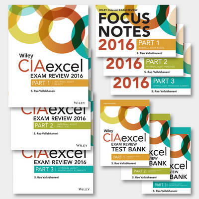 Wiley CIAexcel Exam Review 2016: Complete Pack