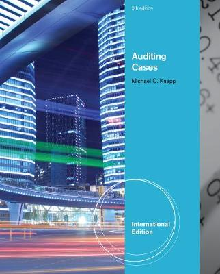 Auditing Cases, International Edition