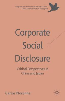 Corporate Social Disclosure: Critical Perspectives in China and Japan