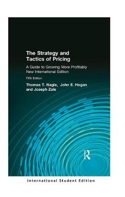 The Strategy and Tactics of Pricing: International Student Edition