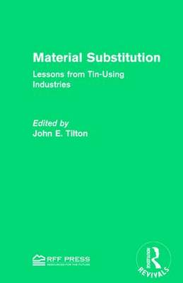 Material Substitution: Lessons from Tin-Using Industries