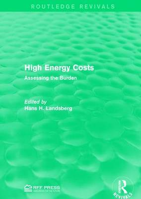 High Energy Costs: Assessing the Burden