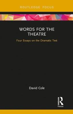 Words for the Theatre