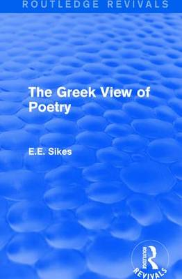 The Greek View of Poetry