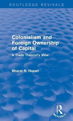 Colonialism and Foreign Ownership of Capital: A Trade Theorist's View