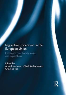 Legislative Co-Decision in the European Union: Experience over Twenty Years and Implications