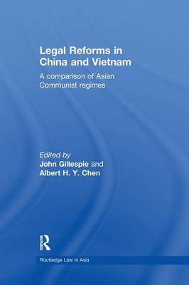 Legal Reforms in China and Vietnam: A Comparison of Asian Communist Regimes