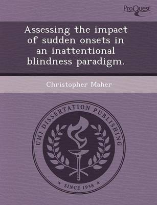 Assessing the Impact of Sudden Onsets in an Inattentional Blindness Paradigm
