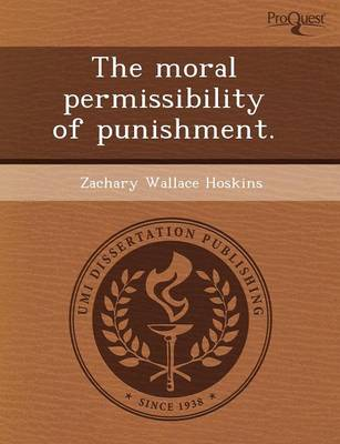 The Moral Permissibility of Punishment