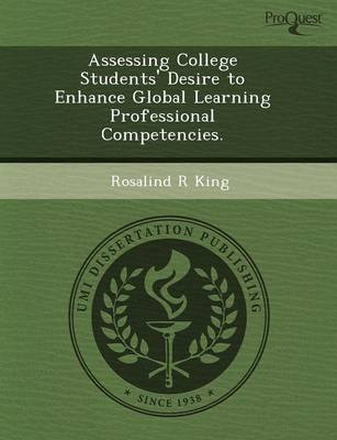 Assessing College Students' Desire to Enhance Global Learning Professional Competencies