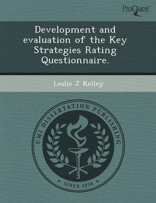 Development and Evaluation of the Key Strategies Rating Questionnaire